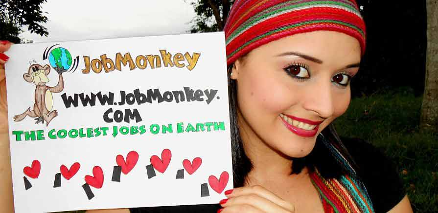 I Love JobMonkey Cool Jobs Photo