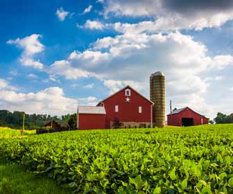 Pennsylvania Farm and Barn Photo