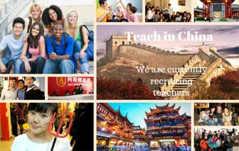 Teach Conversational English in China Ad