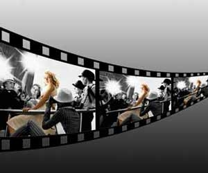 Motion Picture Film Strip Image