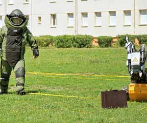 Bomb Squad Training Photo