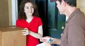 Delivery Jobs are Popular in the Shared Economy Industry Photo Button